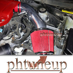 Red Fit 2007-2012 Nissan Altima 2.5 2.5l Air Intake Kit Systems + Filter