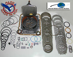Th700r4 Rebuild Kit Heavy Duty Heg Master Kit Stage 4 W/3-4 Power Pack 1987-1993