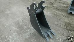 12 Quick Attach Bucket Built To Fit Kubota Kx-161-2-3 Excavator Guaranteed Fit