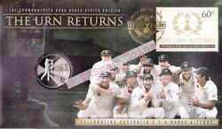 Pnc Australia 2014 The Urn Returns Ashes 5-0 Victory Ram 20c Commemorative Coin