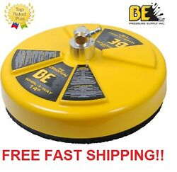 New Be Pressure 14 Whirl-a-way Flat Surface Concrete Cleaner Part 85.403.014