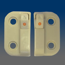 1-pair Of Auto-reset Child Safety Fall Prevention Devices Wocd 1775fm-beige