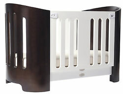 Bloom Luxo Sleep Baby Toddler Crib Bed With Mattress Solid Wood European Styled
