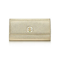 Tiffany Co Gold City Clutch Pocketbook