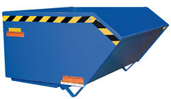 Self-dumping Steel Hoppers With Bumper Release-medium Dty. 10 Gauge 3 Yrds