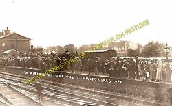 Whittlesea Railway Station Photo. Peterborough - March. Great Eastern Rly. 3