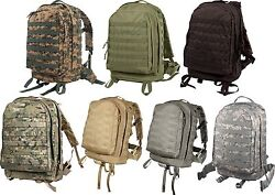 Rothco Molle Ii 3-day Assault Pack Military Camo Backpack
