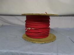 550ft. Western Electric Vintage Cloth Wire 10awg Stranded 1c Red Rare