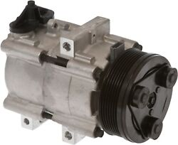Brand New AC AC Compressor With Clutch Fits: 91-93 Lincoln Town Car