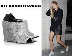 Gorgeous Nwb Sold Out 715 Alla Wedges / Ankle Booties By Alexander Wang