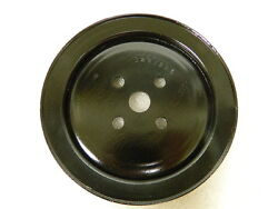 Original Used Gm Smog Pump Pulley A.i.r 1966-67 Chevrolet 3881885 283 And 327