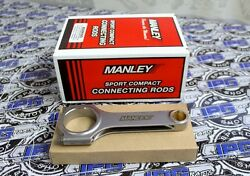 Manley H Beam Sportsman Connecting Rods For 90-96 Toyota Mr2 Turbo 3sgte 14008-4