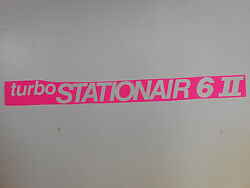 New Original And039whiteand039 Cessna Turbo Stationair 6 Decals Pair. Free Shipping