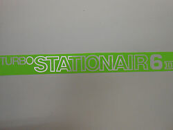 New Original And039whiteand039 Cessna Turbo Stationair 6 Decals Pair Free Shipping