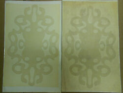 New Original And039goldand039 Design Decals Pair. Free Shipping