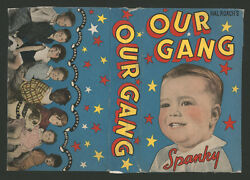 1935 1937 Our Gang Large Size Partial Candy Box Spanky The Little Rascals