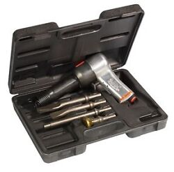 Chicago Pneumatic .498 Super Duty Air Hammer Kit With Chisels Cp 717k