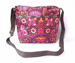 LeSportsac Small Cleo Crossbody Bag Purse Flower Child Floral Paisley NWT