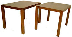 Pair Of Lane Mid-century Modern Walnut Side Tables Excellent Condition