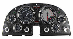 Classic Instruments Chevy Corvette 63-67 Package Autocross Series Grey Co67axg