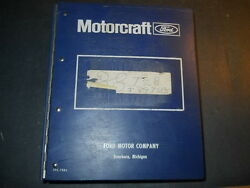 1984 1985 1986 1987 1988 Ford Car And Truck Technical Service Bulletins In Binder