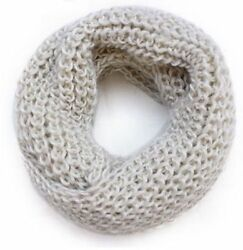 Hot Winter Women Warm Infinity 2 Circle Knit Cowl Neck Long Scarf Shawl 9 Color