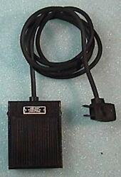 VINTAGE AIR-VAC ENGINEERING FOOT SWITCH FOR 120 VAC 15A WORKING CONDIT