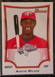 Lot Of 10 Austin Wilson Mariners 2009 Bowman Aflac All-american Rookie Card Rc