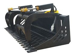 Skid Steer 78 Skeleton Grapple Universal Quick Attach Free Shipping