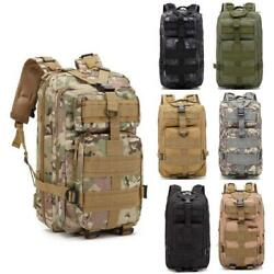 30L Outdoor Military Tactical Rucksacks Hiking Camping Shoulders Backpack New $17.69