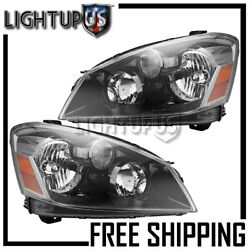 Left Right Sides Pair Hid Headlights Headlamps For 2005-2006 Nissan Altima