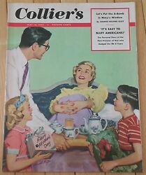 Colliers Magazine May 16 1953 A-bomb Nazi Prisoner Penny Ridgway Mother's Day