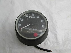 Harley Davidson Xlh And Xlhc Ironhead Sportster Tach Tachometer- Untested