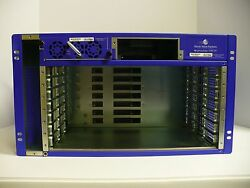 Ciena World Wide Packets 3300-chadc1 Lightning Edge 3300 7 Slot Chassis W/ Power