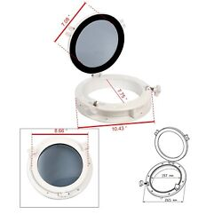 Abs Opening Portlight Porthole 10 Replacement Window Port Hole - White-ean