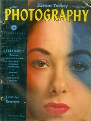 1951 Popular Photography Magazine 35mm Today/flash For Everyone/collector Items