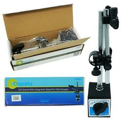 Dti Dial Indicator Gauge With Magnetic Base Stand Engineers Stand Set