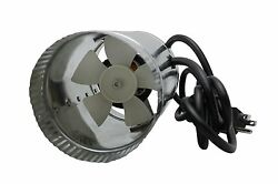iPower GLFANXBOOSTER4 Inline Ducting Booster Fan with Cord 4-Inch Diameter  Ne