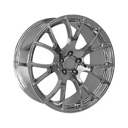 2015 Dodge Charger Srt Hellcat Wheel 20 Inch By 9 Inch Chrome