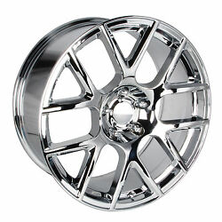 2015 Dodge Charger Challenger Srt Scat Pack Wheel 20 Inch By 9 Inch Chrome