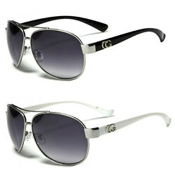 New Cg Classic Retro Men Fashion Metal Aviator Vintage Designer Sunglasses $7.69