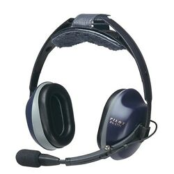 Pilotusa Pa-1771t Anr Stereo Pilot Headset Cell/satphone/music Devices Capable