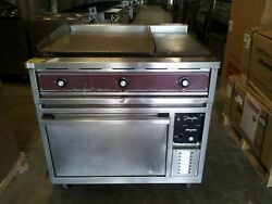 Southbend 36andrdquo Electric Double Griddle With Oven