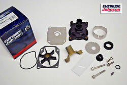 New Oem Johnson Evinrude Outboard Water Pump Kit 389133 50-55hp Brp/omc