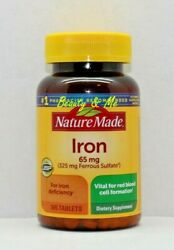 Nature Made Iron 65 Mg - 365 Tablets Dietary Supplement