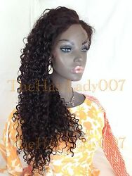 Virgin Curly Wavy Full Lace Wig 1 1b 2 And 4