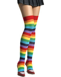 Morris Costumes Thigh High Rainbow Adult. UA6606