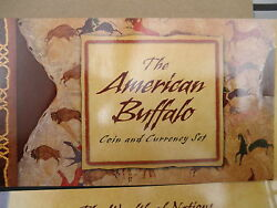 2001 Sealed Buffalo Silver Dollar Coin And Currency Set Price Reduced Buy It Now