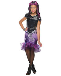 Morris Costumes Girls Ever After High Raven Queen Child Large. RU884909LG