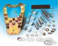 Zodiac H-d Late Style Dash Mounting Plate Kit For Fatbob Gas Tanks Bc16475 T